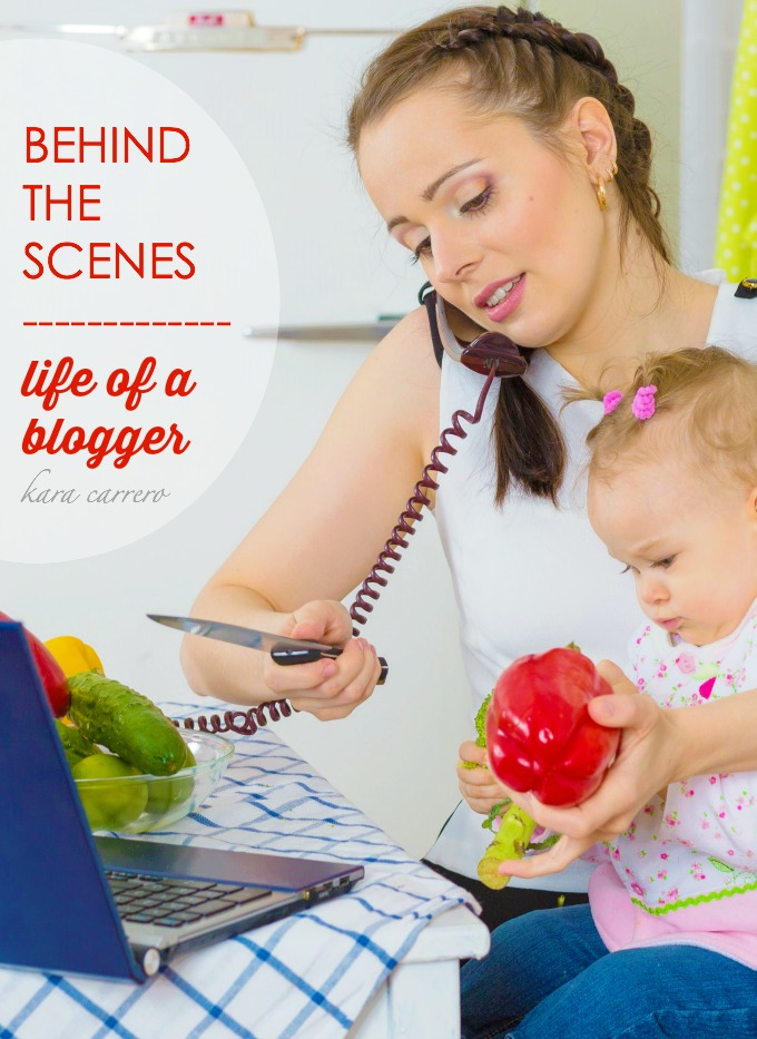 "What every blogger want you to know about their ""behind the scenes"" life and what it's really like to be a WAHM mom who blogs."