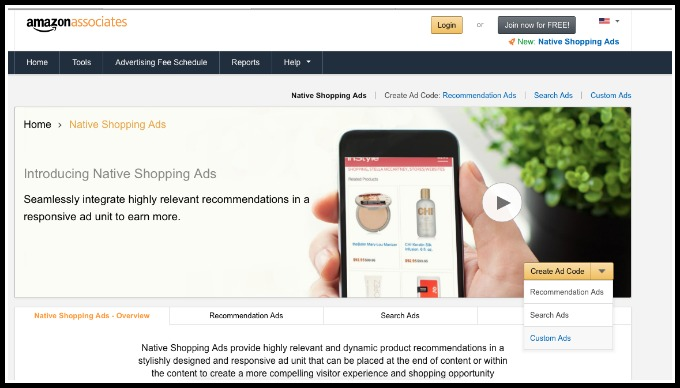 how to use Amazon native ads to leverage book sales