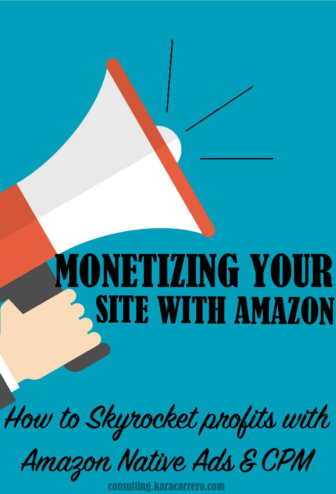 How to maximize your profits when monetizing your blog with Amazon. Build passive income by understanding how to backfill Amazon CPM ads and use each of the three Amazon Native Ads options appropriately.