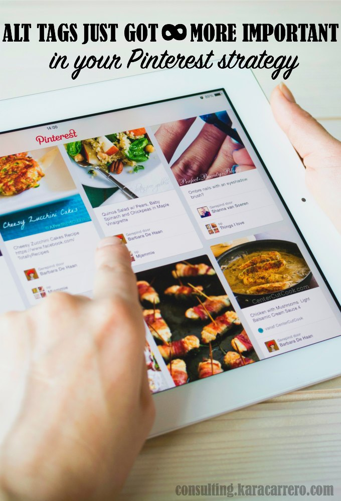 Why alt tags could change how your content is seen and re-pinned on Pinterest