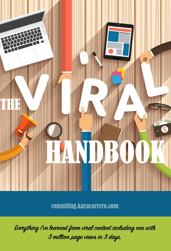 Everything you need to know about viral blog posts and social media content. How to prepare for the day your post goes crazy and what to do when your page views are skyrocketing.