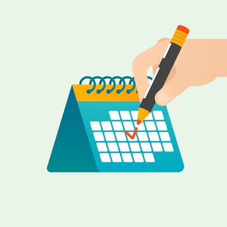 Detailed publishing and editorial calendar for professional bloggers