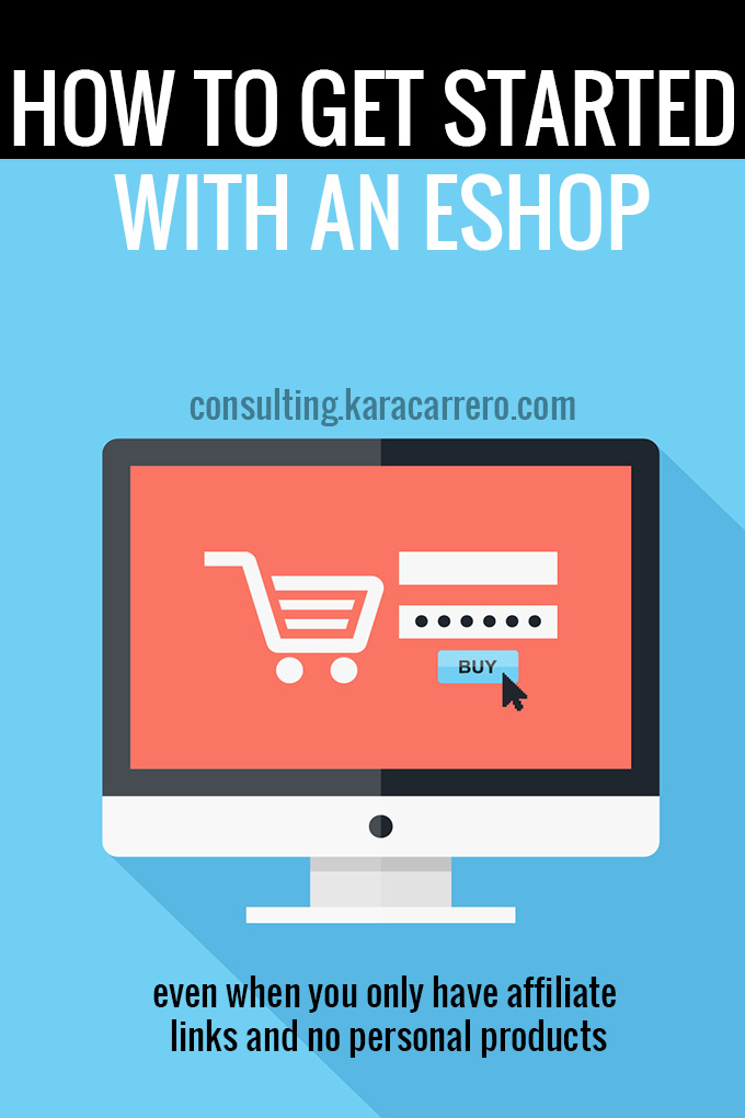 How to open your own shop on your blog. The basics of opening an eshop whether you have your own products or are just an affiliate for others.
