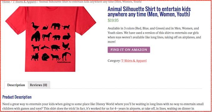 amazon-merch-tshirt-listing-affiliate-link-in-woocommerce-shop