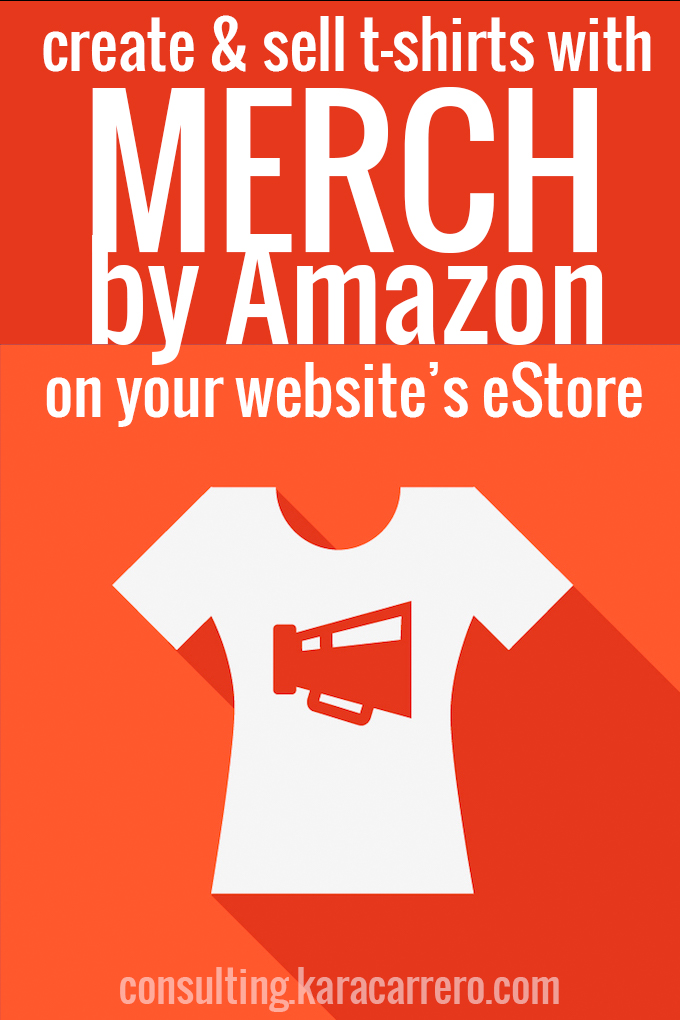 How to sell shirts for a profit on Amazon using Merch and your own affiliate links in your website or blog's eStore