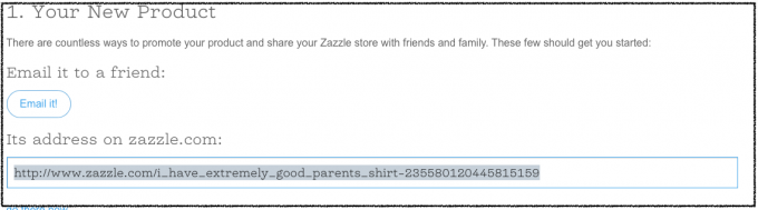 How to link to your own Zazzle store or product through Zazzle's Affiliate program in share a sale