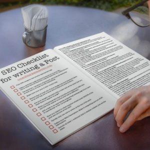 SEO Checklist for bloggers