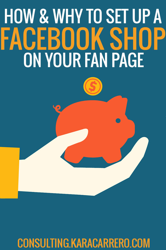 How to set up facebook shop fan page for affiliate links and product features.
